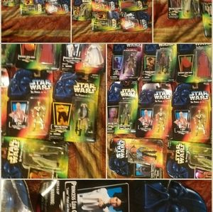 10pc lot 1995-97 Star Wars Action Figures 3.75 in